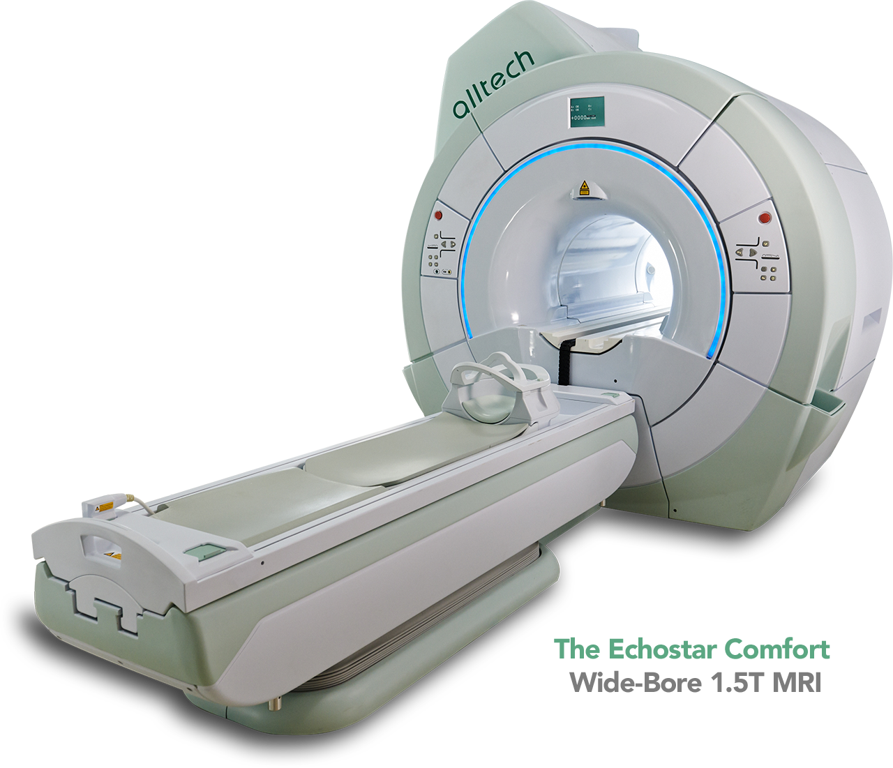 The Echostar Comfort	Wide-Bore 1.5T MRI